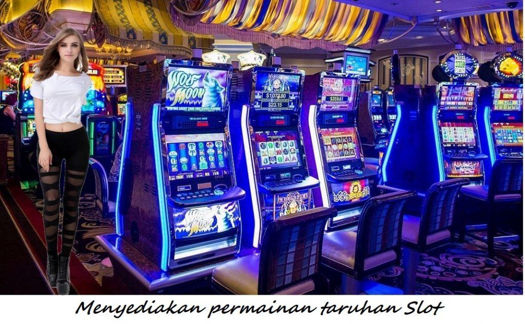 Menyediakan permainan taruhan Slot